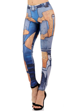 Wholesale Premium Graphic Print Renegade Girl Leggings