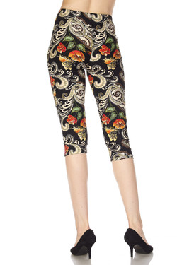 Wholesale Buttery Soft Elegant Floral Capris