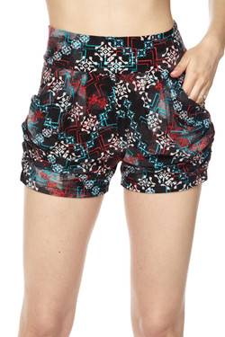 Wholesale Buttery Soft Tribal Chimera Harem Shorts