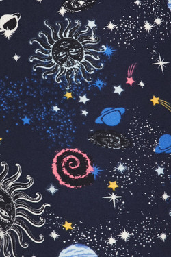 Wholesale Buttery Soft Celestial Heavens Kids Leggings