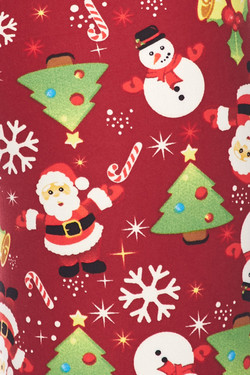 Wholesale Buttery Soft Christmas Delight Kids Leggings