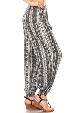 Wholesale Lavish Brocade Harem Leggings