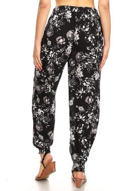 Wholesale Midnight Floral Harem Leggings