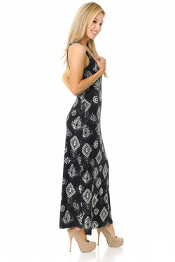 Wholesale Buttery Soft Regalia Tribal Maxi Dress - EEVEE