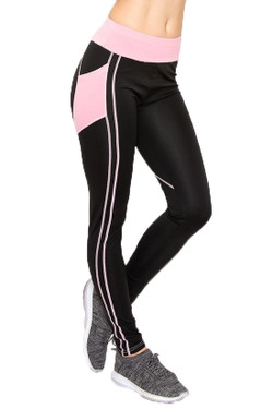 Wholesale Pink Heart Women's Workout Leggings