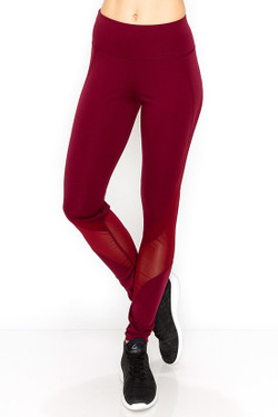 Wholesale Sport Mesh Performance Women's Workout Leggings