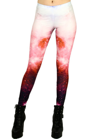 Front side image of DP-KDK1009 - Wholesale Premium Graphic Leggings