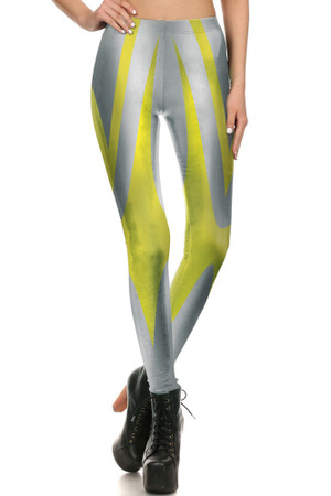 Front side image of DP-1690KDK - Wholesale Premium Graphic Leggings
