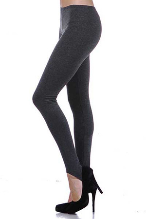 Left Side Image of Wholesale USA Cotton Stirrup Leggings