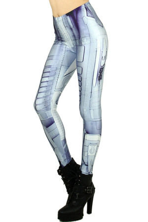 Wholesale Graphic Print Android Leggings
