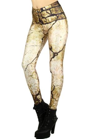 Wholesale Graphic Stone Leggings