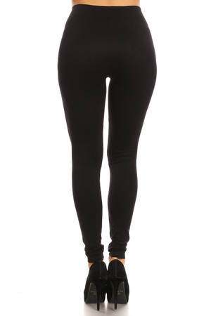 Wholesale Front Double Slashed Seamless Leggings