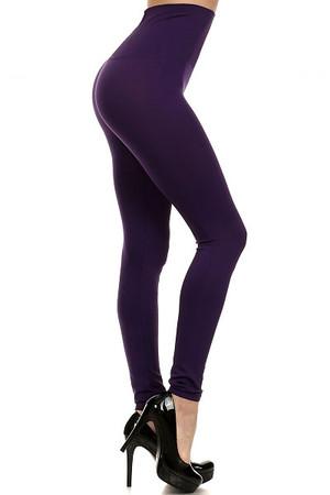 Wholesale High Waisted Basic Contouring Leggings