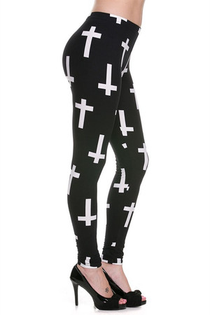 Wholesale Buttery Soft Cross Leggings