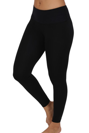 Wholesale Contrast Basic Women's Workout Leggings