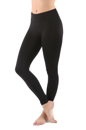 Wholesale Women's Basic Performance Plus Size Workout Leggings