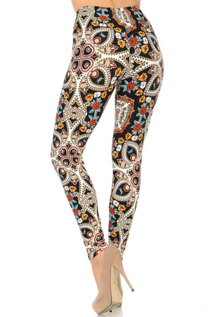 Wholesale Buttery Soft Summer Motif Leggings