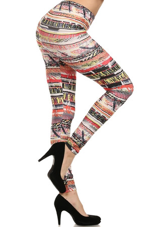 Side Image of PL15BP027 - Wholesale Buttery Soft  Leggings