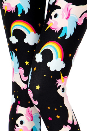 Wholesale Buttery Soft Cute Baby Unicorn Leggings