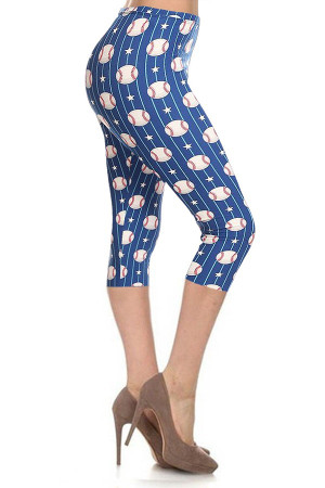 Wholesale Buttery Soft Baseball Capris