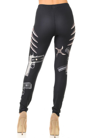 Wholesale Creamy Soft Mission Impossible Leggings