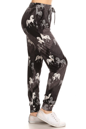 Wholesale Buttery Soft Horse Stallion Joggers