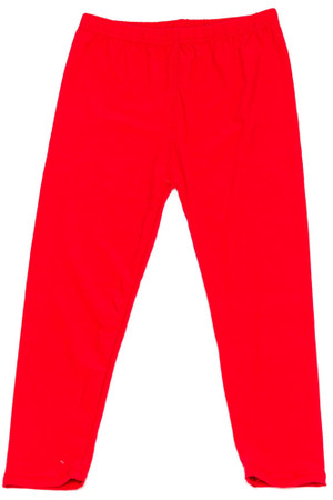 Wholesale Buttery Soft Solid Basic Kids Leggings