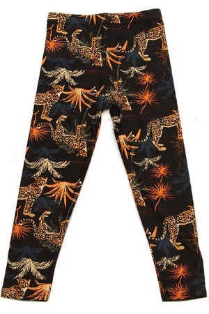 Wholesale Buttery Soft Bold Cheetah Kids Leggings