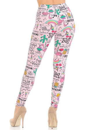Wholesale Buttery Soft Weekend Drama Queen Leggings