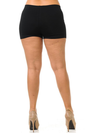 Wholesale USA Plus Size Cotton Boy Shorts