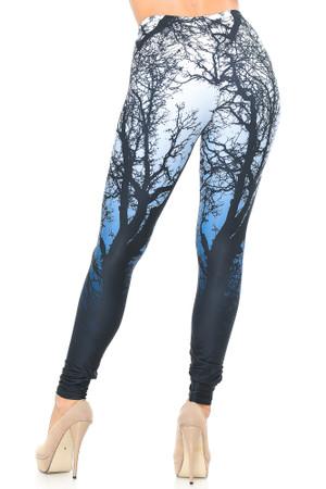 Wholesale Creamy Soft Ombre Forest Leggings - USA Fashion™
