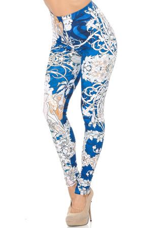 Wholesale Creamy Soft Twisted Eden Vine Leggings - USA Fashion™