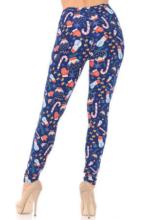 Wholesale Buttery Soft Memories of Christmas Leggings