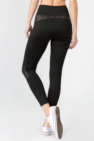 Wholesale Premium Cruiser Sport Faux Detail Active Leggings
