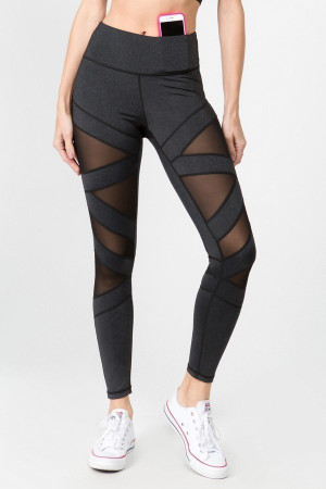 Wholesale Premium Cruiser Crisscross Sport Active Leggings