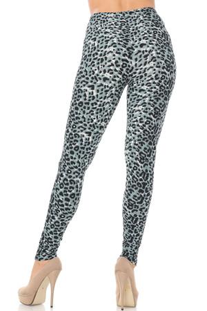 Wholesale Buttery Soft Snow Leopard Leggings