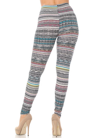 Wholesale Buttery Soft Tribal Cascade Rings Leggings