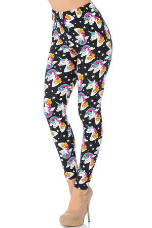 Wholesale Buttery Soft Dreaming Unicorns Leggings