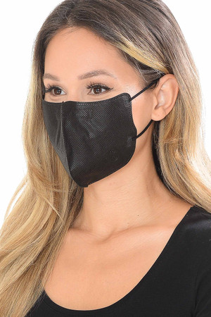 Wholesale Black Face Mask - SINGLES - INDIVIDUALLY WRAPPED