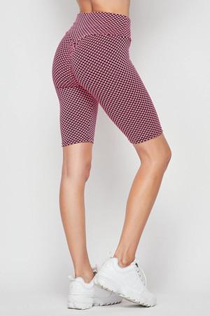 Wholesale Scrunch Butt Sculpting High Waisted Biker Shorts