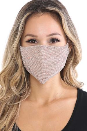 Wholesale Dainty Sequin Fashion Face Masks