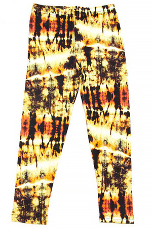 Wholesale Buttery Soft Sunshine Tie Dye Kids Leggings