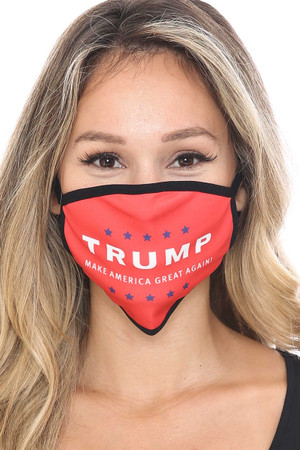 Wholesale President Trump MAGA Face Mask