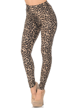 Wholesale Buttery Soft Feral Cheetah High Waisted Leggings