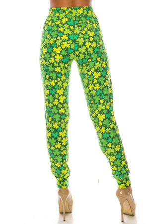 Wholesale Buttery Soft Irish Clover Joggers - LIMITED EDITION