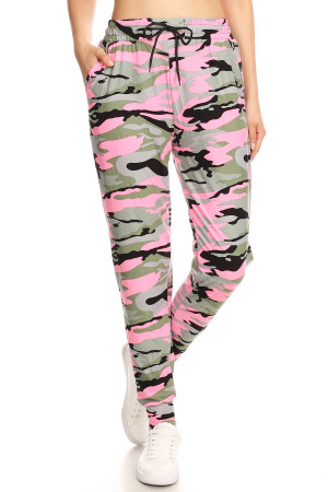 Wholesale Buttery Soft Cotton Candy Pink Joggers
