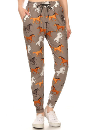 Wholesale Buttery Soft Gorgeous Horse Joggers