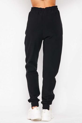 Wholesale Scuba Solid Fur Lined Plus Size Jogger Pocket Zipper & Drawstring