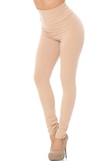 Wholesale USA High Waisted Cotton Leggings