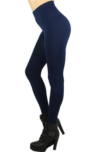 Wholesale Basic Spandex Full Length Plus Size Leggings